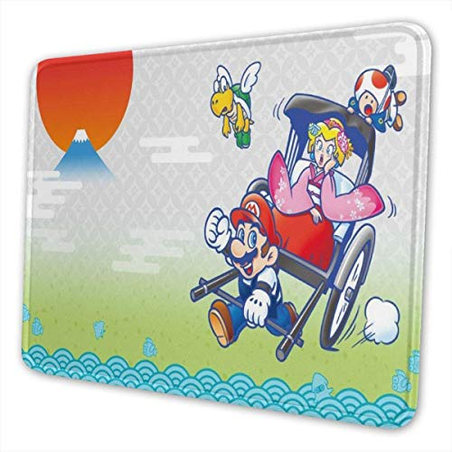 Cartoon Game Super Mario Queen Gaming Mouse Pad unieke Custom Mousepad Computer Keyboard Office Ideal Dek Cover Large Mouse Laptop en PC