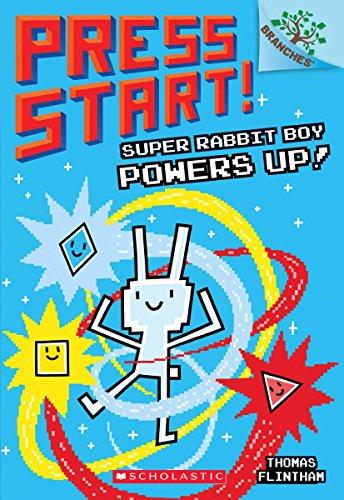 Super Rabbit Boy Powers Up! A Branches Book (Press Start! #2) (2)