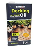 Nourish & Protect DOCL005 Clear 5 L Decking Oil