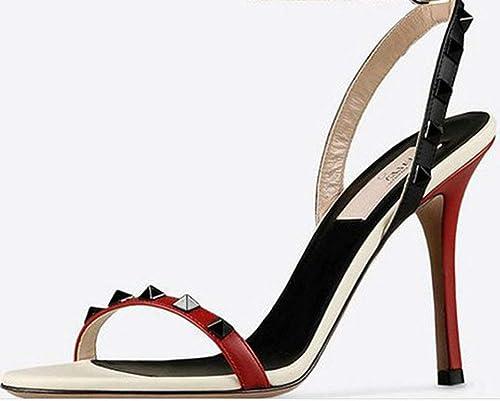 Oudan pour de Bon avec Les Les Sandales avec RHASS. (Couleuré   Noir, Taille   EU 40)  la meilleure offre de magasin en ligne