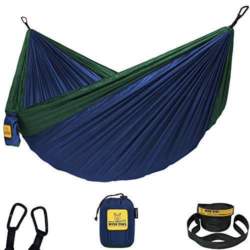 Wise Owl Outfitters Hammock for Camping Single & Double...