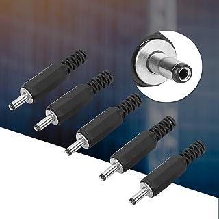 Pangdingk Schulzeit DC Netzstecker, 5 Stück, 1,3 mm x 3,5 mm, DC Netzstecker, Koaxialstecker Adapter