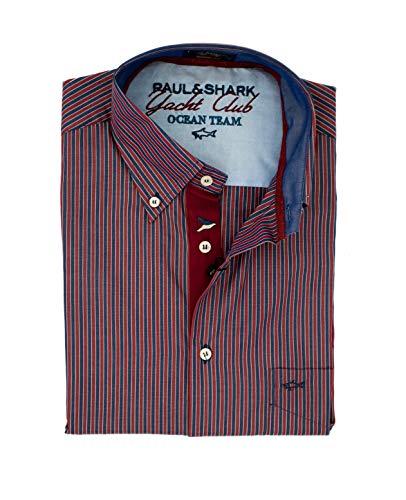 PAUL & SHARK Slim Fit Hemd, Mehrfarbig 34