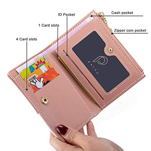 PALAY Small Women's Wallet -PU Leather Multi Wallets   Credit Card Holder   Coin Purse Zipper -Small Secure Card Case/Gift wallet for women and girls