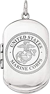 marine corps locket