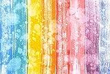 Fondo de fotografía Tablones de Colores Tablero Textura de Madera Fiesta Patrón de bebé Estudio fotográfico Accesorios de Fondo de fotografía A10 5x3ft / 1.5x1m