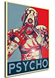 Instabuy Poster - Propaganda - Borderlands - Psycho A