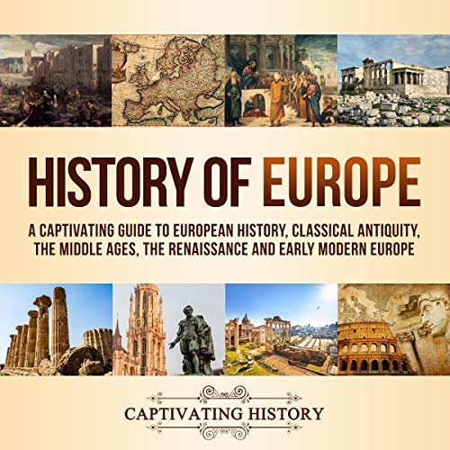 History of Europe audiobook cover art