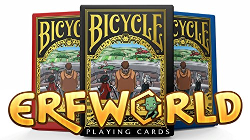 Bicycle Erfworld Playing Cards 3 Deck Set Poker Size USPCC Custom Limited