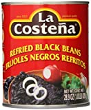 La Costena Refried Black Beans, 28.9 Ounce (Pack of 12)