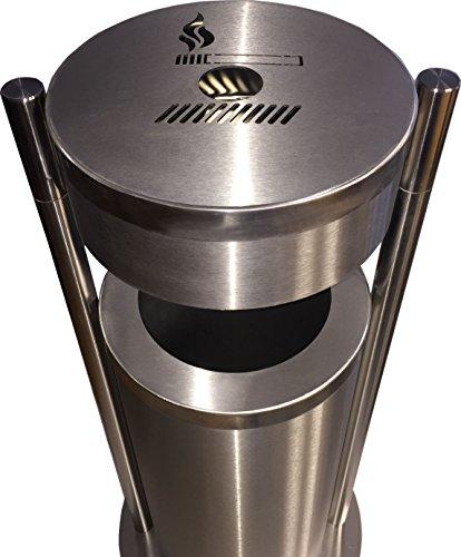 Einhorn® - Abfalleimer mit Aschenbecher