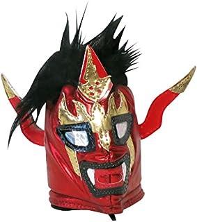 【プロレス マスク コインケース】獣神サンダー・ライガー げんこつマスク キーホルダー コインケース レッド ルチャリブレ プロレス