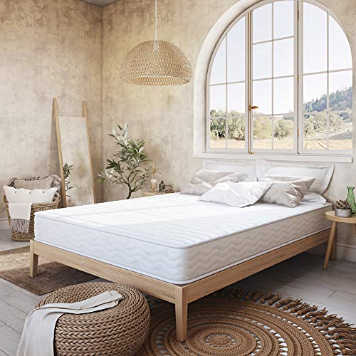 Classic Brands Advantage Individually Wrapped Coils Innerspring 8-Inch Firm Mattress , Twin XL, White