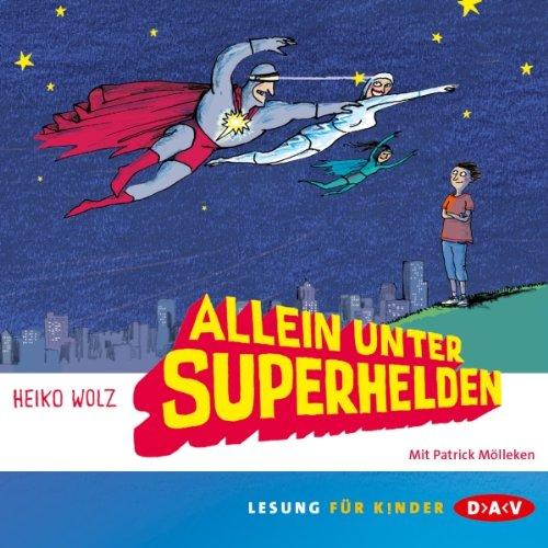 Allein unter Superhelden Titelbild