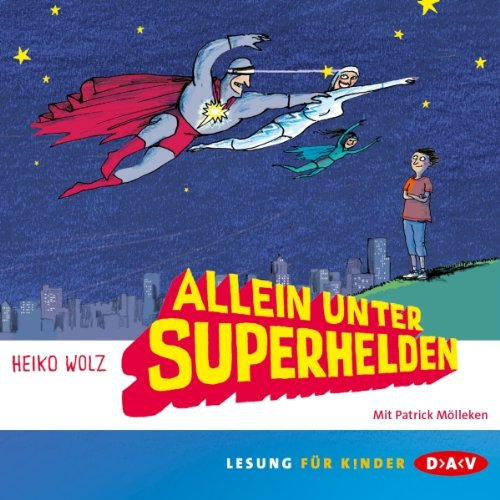 Couverture de Allein unter Superhelden
