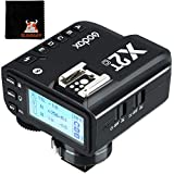 【Godox正規代理】GODOX X2T-C キャノン用 送信機 フラッシュトリガー コマンダー Canon一眼レフカメラ対応2.4G TTL ハイスピードシンクロ1/8000s ワイヤレス ゴドックス クリップオン モノブロックストロボ適用