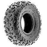 SunF A014 XC Sport-Racing Go-Kart & Quad ATV 145/70-6 (14x6-6) Knobby Tire, 6 PR, Tubeless