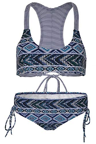 La-V Mädchen Bikini Zweiteilig Jeans-Blau/Größe 170/176