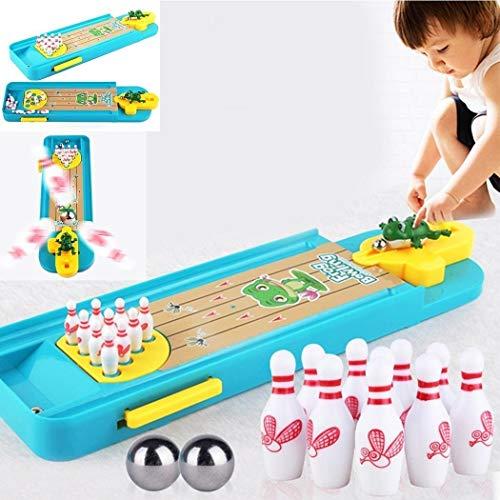 Spielzeug-Kind-Mini-Desktop-Bowling-Spielzeug-Set Mehrfarbig Indoor Bildung Brettspiel,Monsteramy