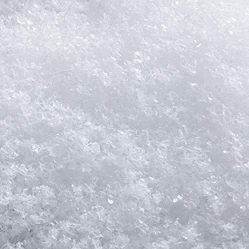 PULVERKRISTALLSCHNEE. 1 Liter. Kunststoff Schneeflocken Deko Schnee Kunstschnee. Weiss