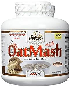 AMIX - Suplemento Alimenticio - OatMash en Formato de 2 kilos - Gran Aporte Nutritivo y Saciante - Mejora el Rendimiento Deportivo - Sabor a Coco-Chocolate