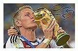Bastian Schweinsteiger - Germany Signiert Autogramme 21cm x