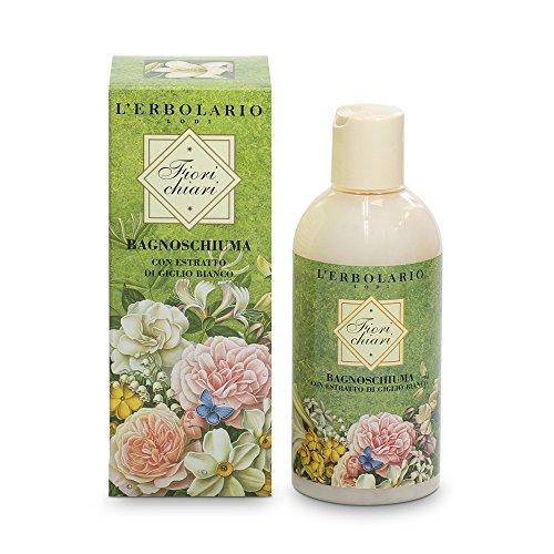L'Erbolario helle Blüten Bade und Duschgel, 1er Pack (1 x 250 ml)