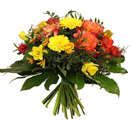 Flora Trans Blumenstrauß mit Rosen -Stimmungsmache- zum Geburtstag