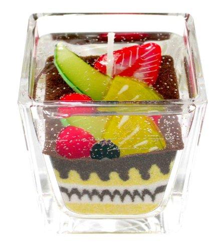 東京ミモレ Sweets Candle フルーツチョコレートケーキ