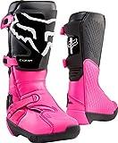 Fox Racing Womens COMP Motocross Boot,Black/Pink,10