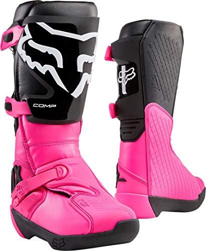 Fox Racing Womens COMP Motocross Boot,Black/Pink,8