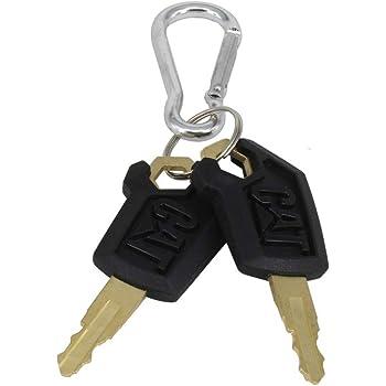 Jeenda 10PCS Ignition Keys 5P8500 5P-8500 for Caterpillar CAT Loaders Excavators Dozers 0964753 0966198 8V4404 9G2777 980K 980H 416C 248B