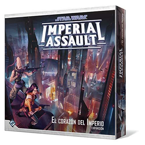 Fantasy Flight Games Star Wars-Imperial Assault: el corazón del Imperio-Español, Color (FFSWI46)