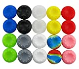 yueton 10 Pairs Colorful Silicone Accessories Replacement Parts Thumb Grip Cap Cover For PS2, PS3, PS4, XBox 360, XBox One Controller