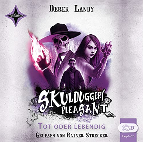 Skulduggery Pleasant 14 - Tot oder lebendig: Leicht gekürzte Lesung, gelesen von Rainer Strecker, 2 mp3-CD, ca. 12 Std.