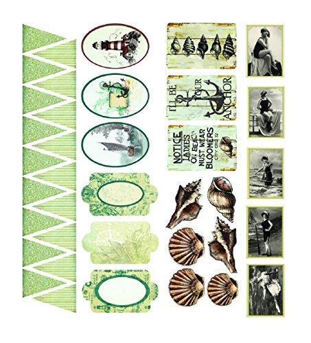 Couture Creations Sea Breeze Lijm Spaanplaat, Multi kleuren