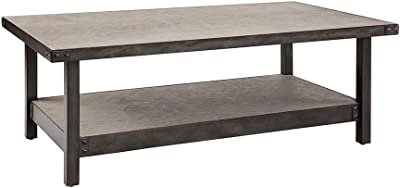 Cody Coffee Table Pewter See Below