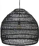 Accueil Chinois Rural Créatif Art De Rotin De Bambou Tissé À La Main Lustres Lanterne en Osier Salon De Thé Japonais Chambre Salle À Manger Suspension Luminaire E27 Pendentif Lampe Cuisine I