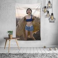 武田玲奈 (53) タペストリー リビングルーム/ベッドルームの装飾用インテリア 壁飾り ポスター テーブルクロス 多機能 おしゃれな壁掛 パーティー 撮影用 背景布用150x100cm (60x40in)