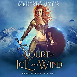 A Court of Ice and Wind: A Reverse Harem Fantasy Romance     War of the Gods, Book 3              By:                                                                                                                                 Meg Xuemei X                               Narrated by:                                                                                                                                 Victoria Mei                      Length: 5 hrs and 59 mins     Not rated yet     Overall 0.0