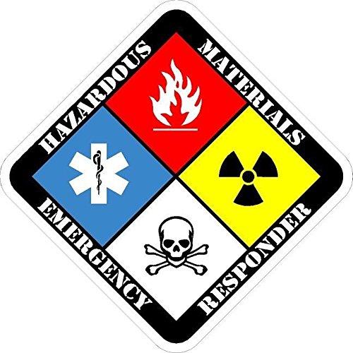 Vinyl Overlays 720 Hazmat Technician Decal Firefighter Haz Mat Hazardous Materials Sticker Car Bumper Window VAR