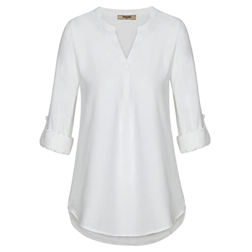 womens white tops