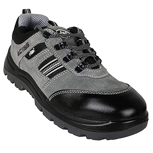 Allen Cooper 1156 Steel Toe Leather Safety Shoe Size - 8