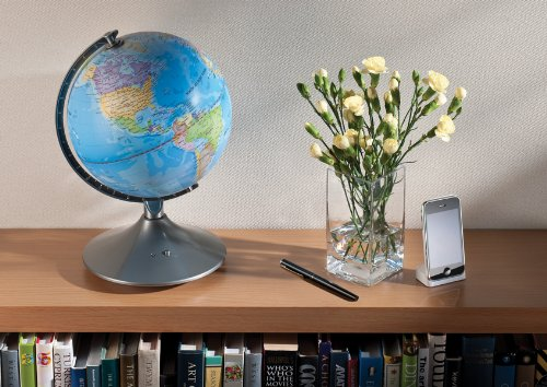 Brainstorm Toys E2001 Light Up 2 in 1 Globe Earth & Constellations, Multi-Colour