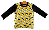 adonia mode Kinder T-Shirt, LangarmShirt für kleine Fußball Fans, 0-24 Monate