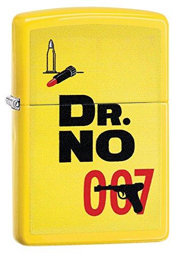 Zippo, James Bond-Feuerzeug, offizielles Lizenzprodukt, windsicher, langlebig M zitronengelb