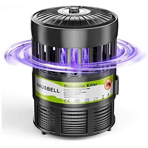 HAUSBELL Mosquito Killer Lamp, Electric Bug Zapper, Mosquito Trap, Pests Gnat Trap, Insect Fly Trap,...