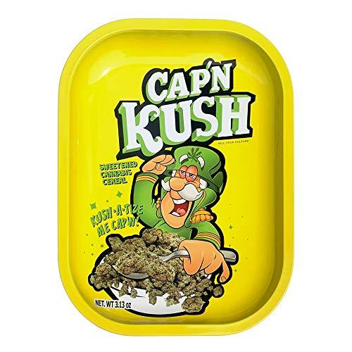 Kill Your Culture Rolling Tray – 5.5″x7″ / Cap 'N' Kush