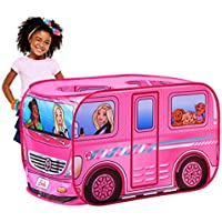 Sunny Days Entertainment Barbie Dream Camper Pop Up Play Tent