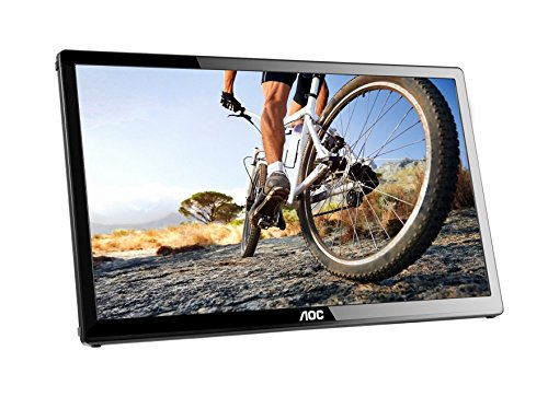 AOC e1759Fwu 17-Inch Ultra Slim 1600x900 Res, 220cd/m2 Brightness USB 3.0-Powered Portable LED Monitor (Renewed)